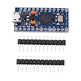 Akozon Microcontroller Entwicklungsboard, Pro Micro Atmega32U4 5V / 16MHz SCM MCU
