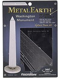 Fascinaciones MMS036 - la tierra del metal, el monumento de Washington, juguetes de construcción
