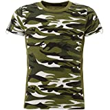 BEZLIT Jungen T-Shirt Kurzarm in Camouflage Optik 22036, Farbe:Olivegrün, Größe:140