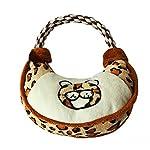 Lovely Handbag Shape Pet Dog Puppy Plush Chew Biting Play Fetch Training Toy - Random Color Random Style 6