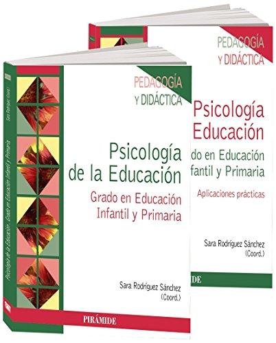 Pack: Psicología De La Educación. Grado En Educación Infantil Y Primaria - 9788436833171
