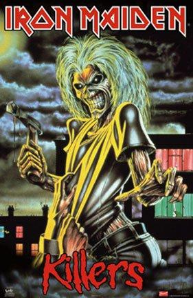 Iron Maiden–Berühmten Killer Poster–New 24x 36