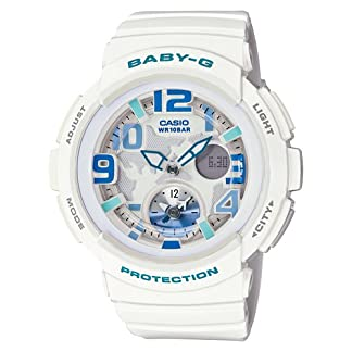 Casio Baby-G Analog-Digital White Dial Women's Watch – BGA-190-7BDR (B158)