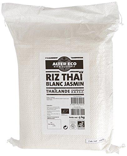 Alter Eco Riz Thaï Bio et Equitable 5 kg