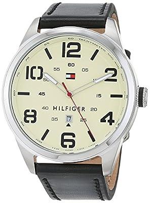 Tommy Hilfiger Hombre Reloj de pulsera analógico cuarzo piel 1791158