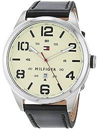 Tommy Hilfiger Herren-Armbanduhr Analog Quarz Leder 1791158