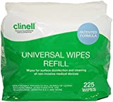 Clinell Universal Wipes - Bucket of 225 Refill