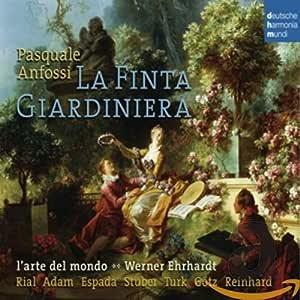 Anfossi: La Finta Giardiniera : ENSEMBLE L'ARTE DEL MONDO: Amazon.it: Musica