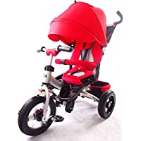 Little Tiger Kids children child trike tricycle with rotating seat, reclining seatback rest.