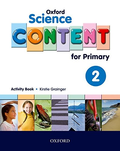 Science Content 2nd Primary Activity Book - 9780194637053