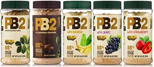 bell-plantation-pb2-peanut-butter-powdered-mix-5-pack-oroginal-chocolate-banana-grape-strawberry-lim