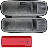LTGEM EVA Duro Caso Viajar Proceso de Llevar Almacenaje Bolsa para Ultimate Ears UE BOOM 2 / UE BOOM 1 Inalámbrica Bluetooth Portable Altavoz.Fits USB Cable y pared Cargador.