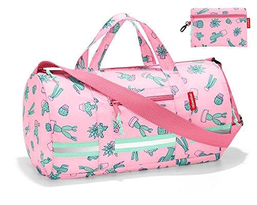 Reisenthel Mini Maxi Dufflebag S Kids Kinder-Sporttasche, 38 cm, 10 L Cactus Pink