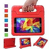 NEWSTYLE Samsung Galaxy Tab 47.0Pollici Eva Antiurto Custodia Portatile per Bambini con Supporto Custodia Stand Funzione per Samsung Tab 4SM T230/T231/T235Tablet 7Pollici Rot