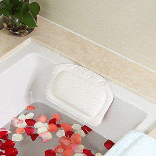 lqztm-bain-oreiller-doux-spa-appuie-tete-lavable-coussin-bain-pvc-mousse-baignoire-ventouses-blanc