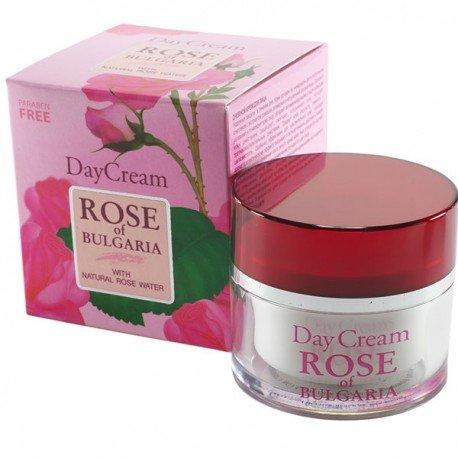 Biofresh Tagescreme Rose of Bulgaria mit Rosenwasser, Rosmarinextrakt und Komplexe aus den Kamillen...