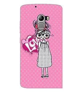 PrintDhaba Specy Girl D-3986 Back Case Cover for LENOVO VIBE X3 LITE (Multi-Coloured)