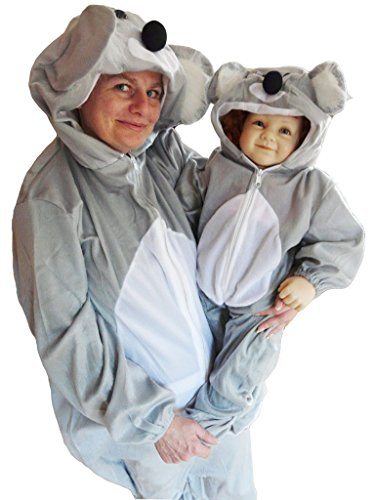 Kostüm Paar Koala - PUS Koala- Kostüm-e J42 Gr. M-L, Kat. 1, Achtung: B-Ware Artikel. Bitte Artikelmerkmale lesen! Frau-en und Männer Tier-e Raubkatze-n Fasnacht-s Fasching-s Karneval-s Geburtstag-s Geschenk-e