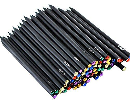 Blue Vessel Schwarz Holz Bleistift Geschenk Kinder Bleistift Büro schreiben Kinder Bleistift