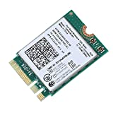 ASHATA WiFi Karte, Intel 7260NGW AN Wireless WiFi Karte Dualband 2,4GHz /5GHz WLAN Adapter,Bluetooth 4.0 Drahtlose WiFi-Karte NGFF M2 Netzwerkkarte für Dell/ASUS / Toshiba/Acer usw.