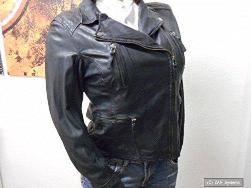 Preisvergleich Produktbild Oakwood 60861 534 Damen Jacke 100% Leder, Lederjacke, Schwarz, Gr. XL, TA-002