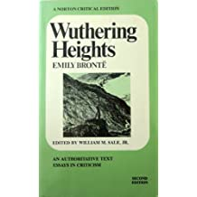 Wuthering Heights (Norton Critical Editions) by Emily Bronte (1972-04-01)