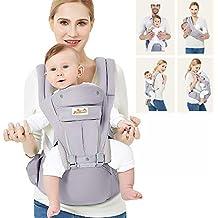 a7dd03b0722e Viedouce Porte-bébé Ergonomique Multi-fonctions Ajustable,Pur coton Porte- bébé avec