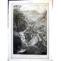 Stampi Indiano 1917 293T147 degli Ufficiali del Nativo di Ghyll Jh Crossland della Montagna il primo terzo