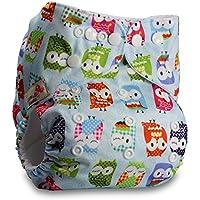 Littles & -Bloomz, pañal reutilizable de bolsillo, cierre: Popper, juego de 1