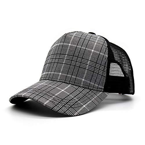 ChangDe SOHP Hüte, Baseball-Caps Herren Caps Wilde Hüte beiläufige Universal-Junior Domes, freie Größe Herren Hüte und Mützen (Color : A)