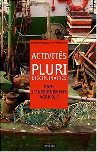 Activités pluridisciplinaires dans l'enseignement agricole