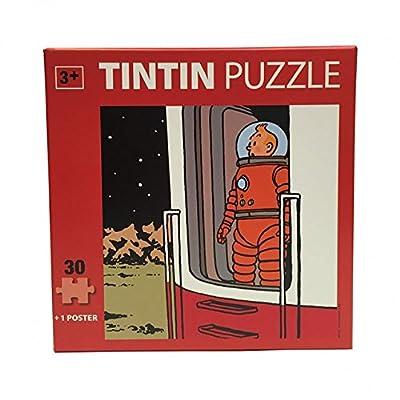Puzzle Tintin Lune porte - Neuf - Moulinsart - Hergé.
