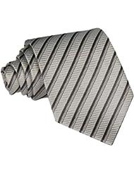Demarkt Klassische Krawatte Schlips Streifen Tie Kravatte Binder Business Herrenkrawatte