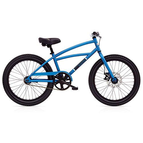 Electra Moto 3I Jungen Fahrrad 20 Zoll Blau 3 Gang Beachcruiser Mountain Bike MTB, 528805 -