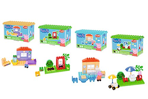 Big 800057102PlayBig Bloxx–Peppa Pig Basic Set, Modelli assortiti
