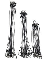 GLCHQ 72 Lure fil de traction pour la pêche au brochet Pike - contient 3 tailles 18cm 26cm et 31cm - Idéal pour la pêche prédatrice