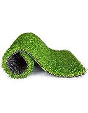 PrettyKrafts High Density Artificial Grass Carpet Mat for Balcony, Lawn, Door
