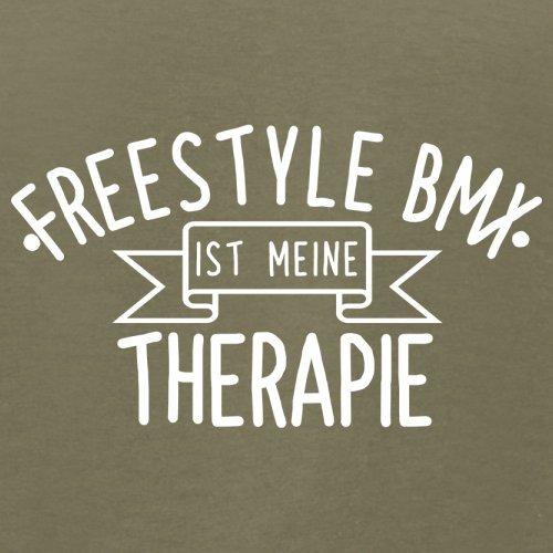 Freestyle BMX ist meine Therapie - Herren T-Shirt - 13 Farben Khaki