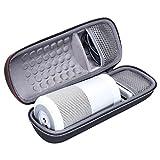 XANAD Tasche für Bose SoundLink Revolve Lautsprecher Hülle Hartes EVA Tragecover,Kompatibel mit Kabel und Ladegerät