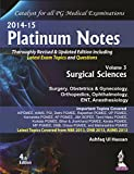 (Old) Platinum Notes Vol.3 Surgical Sciences