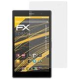 atFolix Schutzfolie für Sony Xperia Z3 Tablet Compact Displayschutzfolie - 2 x FX-Antireflex blendfreie Folie