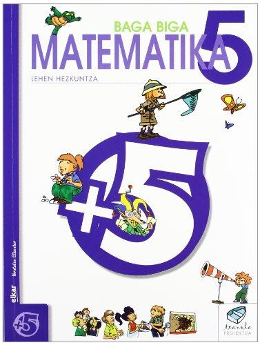 Txanela 5 - Matematika 5 - 9788497830966