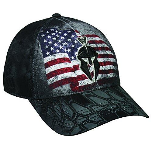 Kryptek American Flagge Helm Logo Typhon Camo Cap