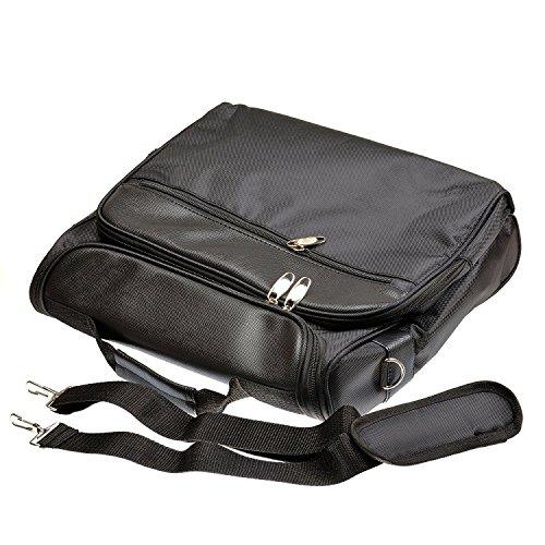 iprotect Tasche für Xbox One Konsole, Controller und Zubehör Schutztasche und Aufbewahrung in schwarz -