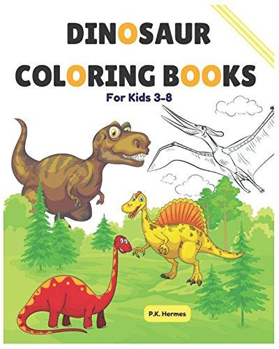 Dinosaurs Book Read Online Dinosaur Coloring Books For Kids 3 8 Jumbo Activity Toddlers Preschoolers Download