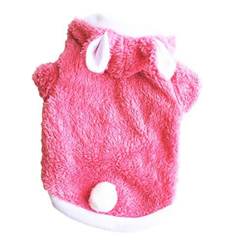 fablcrew Kleidung für Hunde klein Tier Katze Hund Warm Kleidung Kostüm XS/S/M/L