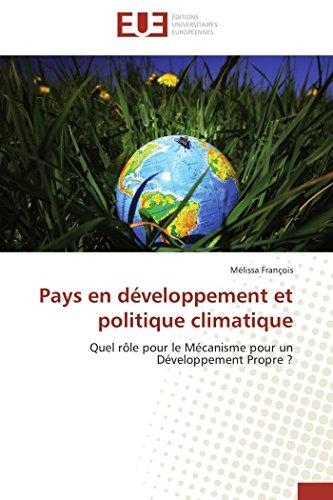Pays en développement et politique climatique par Mélissa François