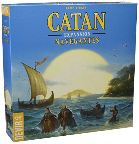 Devir - Catan, expansión Navegantes, juego