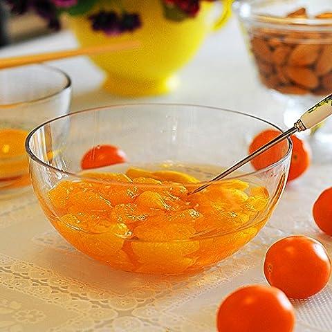 Yifom vetro senza piombo trasparente Insalatiera coppa di frutta dolce bocce