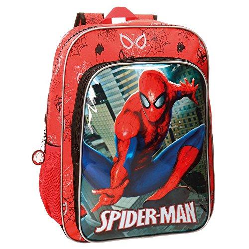 Spiderman city zaino, 40 cm, 19.2 liters, multicolore (multicolor)